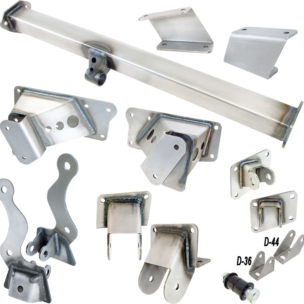 1955-59 Chevy PU Truck (Incl 2nd Series 55) - 84-87 Corvette Rear  Suspension Installation Kit